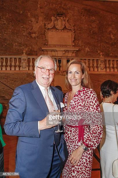 Friedrich von Thun and Gioia von Thun attend the Audi Night 2015 on July 31, 2015 in Salzburg, Austria.