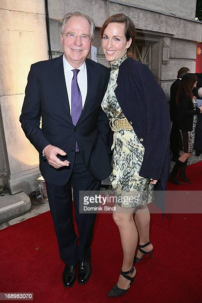 Friedrich von Thun and Gioia von Thun attend the 'Bayerischer Fernsehpreis 2013' at Prinzregententheater on May 17, 2013 in Munich, Germany.