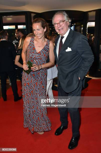 Friedrich von Thun and his daughter Gioia von Thun during the opening night of the Munich Film Festival 2017 at Bayerischer Hof on June 22 2017 in...