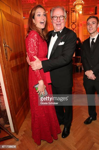 Friedrich von Thun and his daughter Gioia von Thun during the ROMY award at Hofburg Vienna on April 22 2017 in Vienna Austria