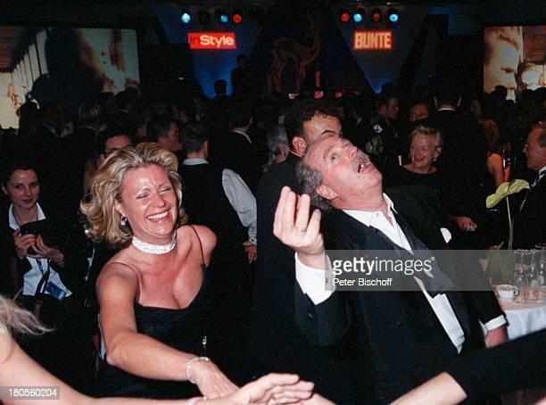 Friedrich von Thun, Ehefrau Gaby;Schniewind, ARD live, Bambi-Verleihung,;Estrele Convention Center, Berlin,;Deutschland, Party,...