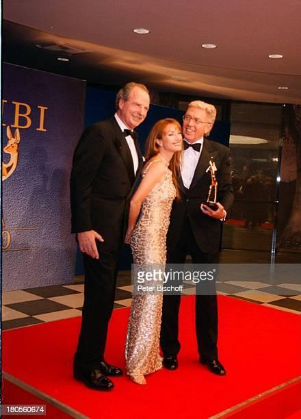 """Friedrich von Thun, Jane Seymour, Wolfgang;Ley, , ARD-Live, 52.;Bambi-Verleihung, Hotel """"Estrel"""";Convention Center, Berlin, Deutschland, Europa,..."""