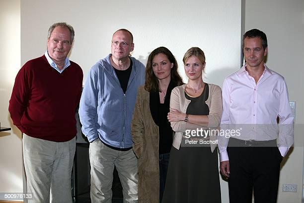 Friedrich von Thun Matti Geschonneck Maja Maranow Katharina Böhm Thomas Dannemann ZDFKriminalfilm Es gibt kein Morgen mehr Bonn Deutschland PNr...