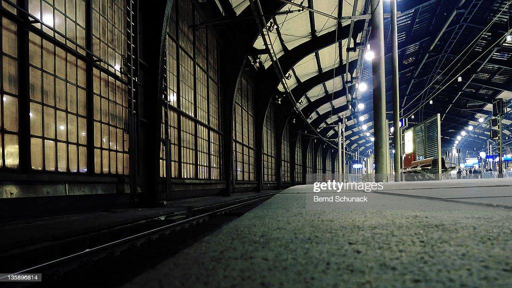 Friedrichstrasse station : Stock Photo