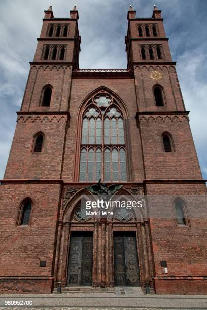 friedrichswerdersche kirche - kirche - fotografias e filmes do acervo