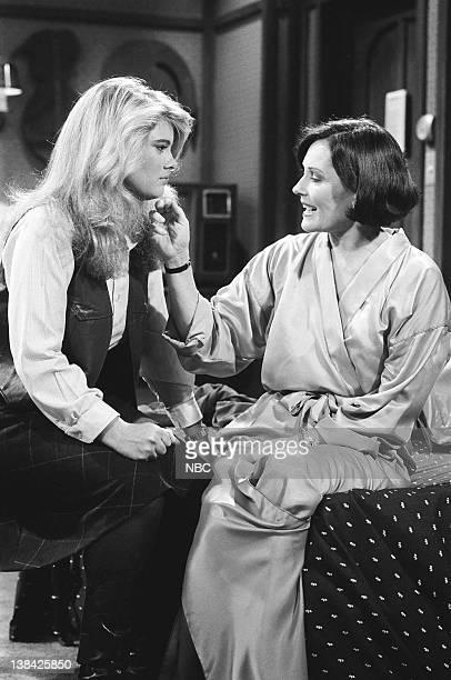 LIFE A Friend in Deed Episode 4 Pictured Lisa Welchel as Blair Warner Marj Dusay as Monice Warner