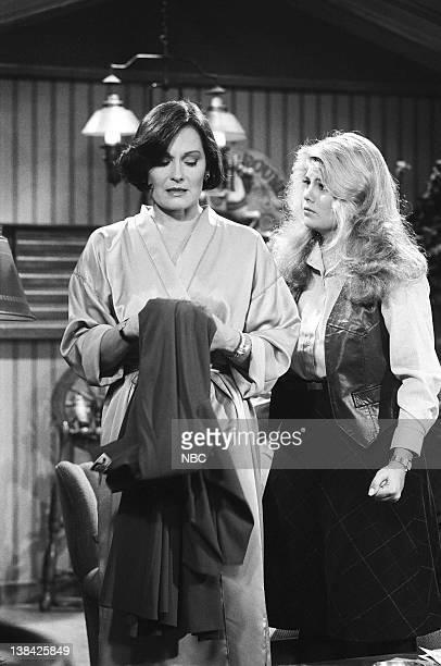 LIFE A Friend in Deed Episode 4 Pictured Marj Dusay as Monica Warner Lisa Welchel as Blair Warner