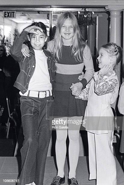 friend Nell Newman and Clea Newman during Ballet Society Luncheon at the Bel Air Hotel March 30 1973 at Bel Air Hotel in Bel Air California United...