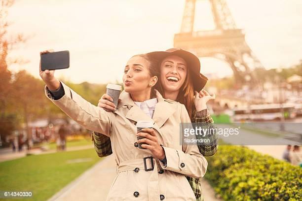 Friend Selfie in Paris
