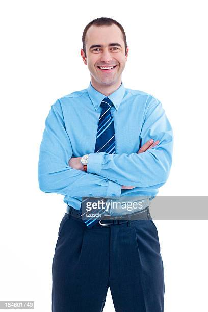 friendly businessman - izusek stock pictures, royalty-free photos & images