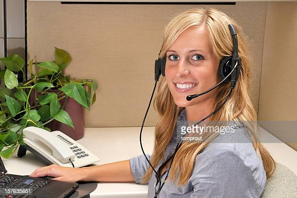 Friendly Customer Assistance or Dispatcher