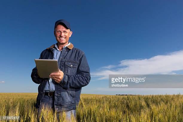 Agriculteur et pour tablette