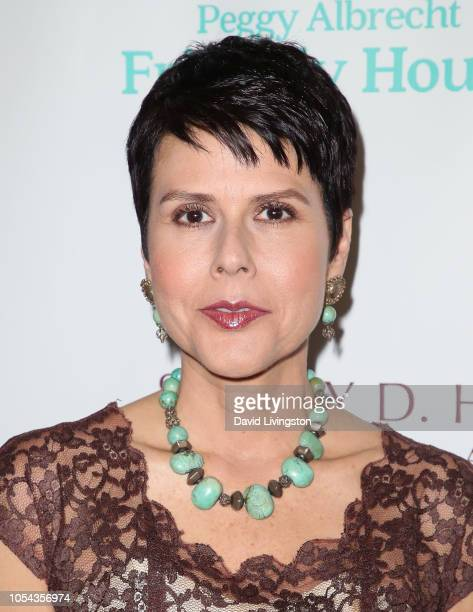 Friendly House executive director Monica Phillips attends the Peggy Albrecht Friendly House's 29th Annual Awards Luncheon at The Beverly Hilton Hotel...