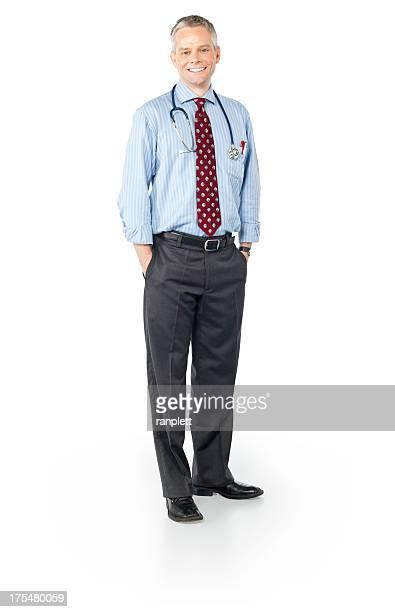 Sympathique homme Médecin