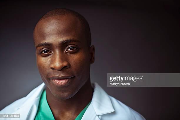 friendly male doctor