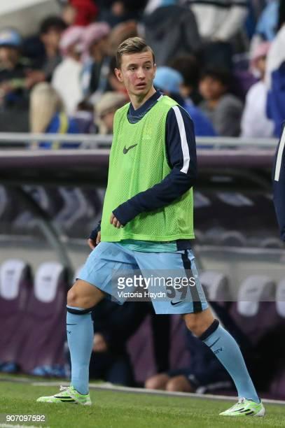 Friendly Manchester City v Hamburg SV Hazza Bin Zayed Stadium Manchester City's Bersant Celina