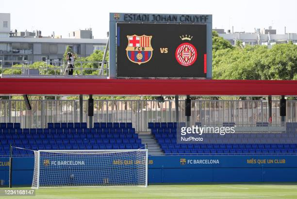 Friendly match between FC Barcelona and Girona FC, played at the Johan Cruyff Stadium on 24th July 2021, in Barcelona, Spain.