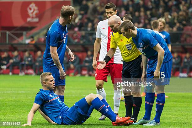 Friendly match between Poland and Iceland at the National Stadium on November 13 2015 in Warsaw Poland