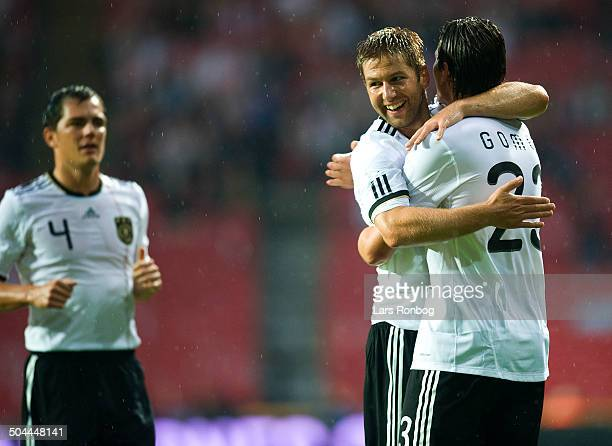 Friendly Match Mario Gomez Tyskland Germany making 10 goal against Denmark © Lars Rønbøg / Frontzonesport