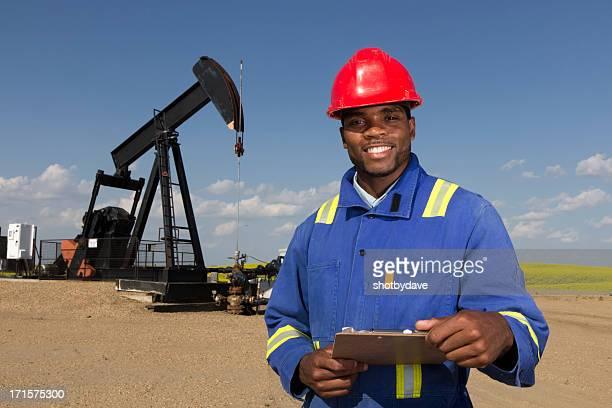 Friendly Oil Worker