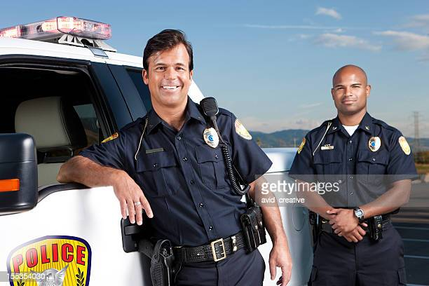 Friendly Police Officers