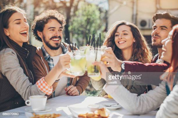 friendly toast - the brunch stock pictures, royalty-free photos & images
