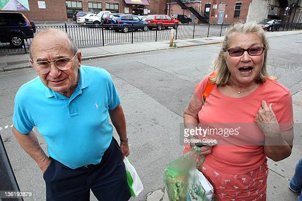Friends Allan Zenowitz and Joan Van Dorn both of Cambridge respond People in Cambridge's Central Square are asked on Thursday July 23 about President...