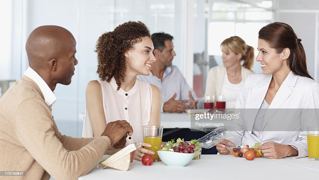 Friends and colleagues : Stock Photo