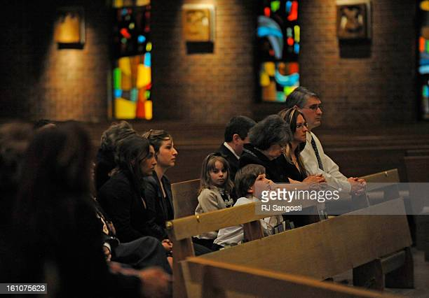 URSO11 Friends and family of Phil Urso came to pay their respects during a service at St Jude's Catholic Church in Lakewood Urso was known in the...