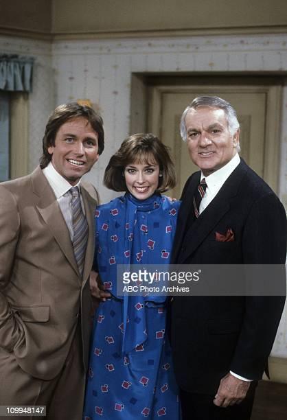 """Friends And Lovers"""" - Airdate: September 18, 1984. JOHN RITTER;MARY CADORETTE;ROBERT MANDAN"""