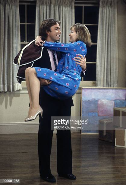"""Friends And Lovers"""" - Airdate: September 18, 1984. JOHN RITTER;MARY CADORETTE"""