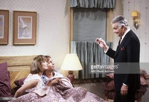 """Friends And Lovers"""" - Airdate: September 18, 1984. MARY CADORETTE;JOHN RITTER;ROBERT MANDAN"""