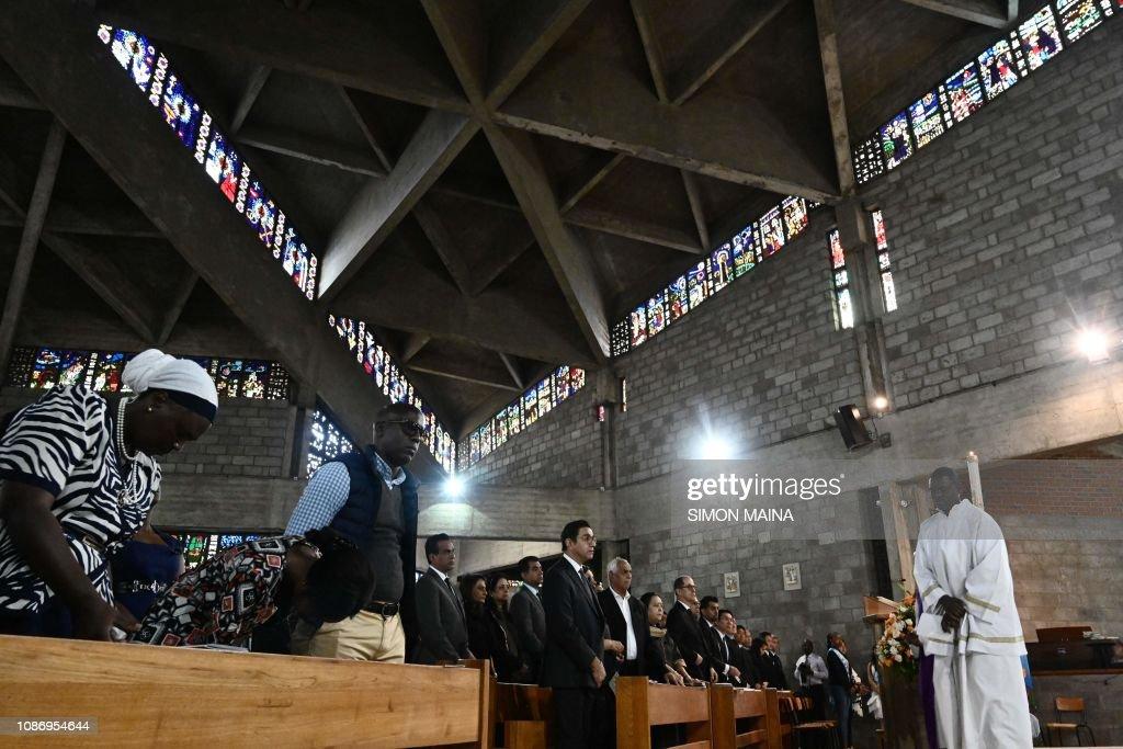 KENYA-TERROR-MEMORIAL : News Photo