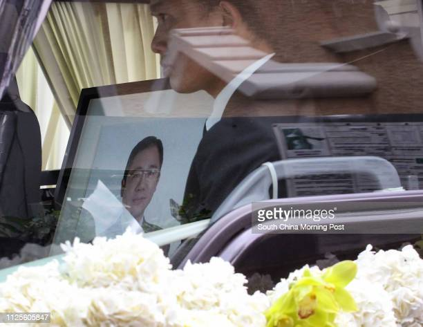 Friends and relatives attend the funeral of late gastroenterology and haepatology specialist Dr Wayne Hu Hsingcheng who died in a yacht accident at...
