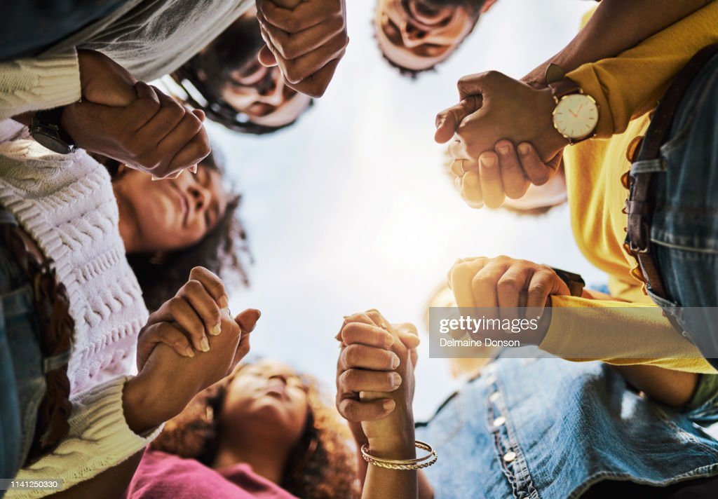 Friends are there when you need them most : Stock Photo
