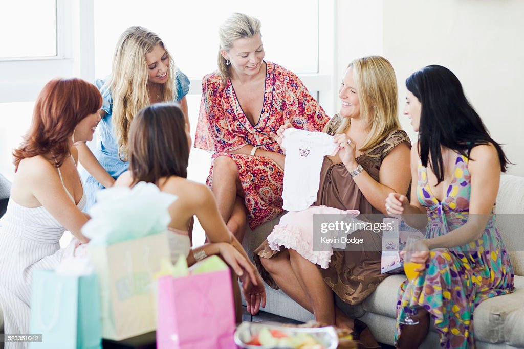 Friends At Baby Shower