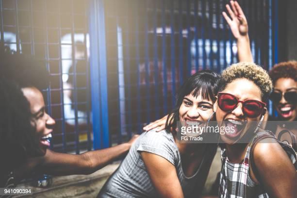 Vänner på subway
