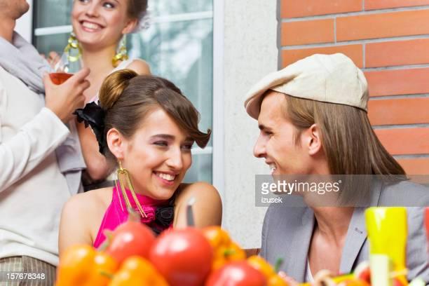 Freunde im Freien-party