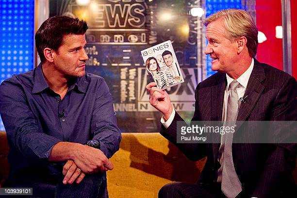 'FOX Friends' Cohost Steve Doocy talks with actor David Boreanaz about the upcoming season of hit series 'Bones' and his support the Stand Up for...