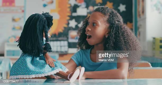 友人はすべての異なる形やサイズで来る - 人形 ストックフォトと画像