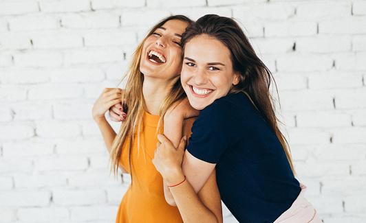 Friends dancing indoors 841836226