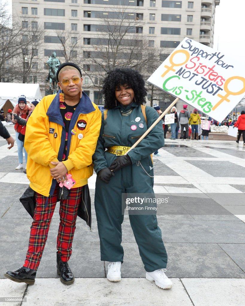 Women's March 2019 - Washington, DC : News Photo