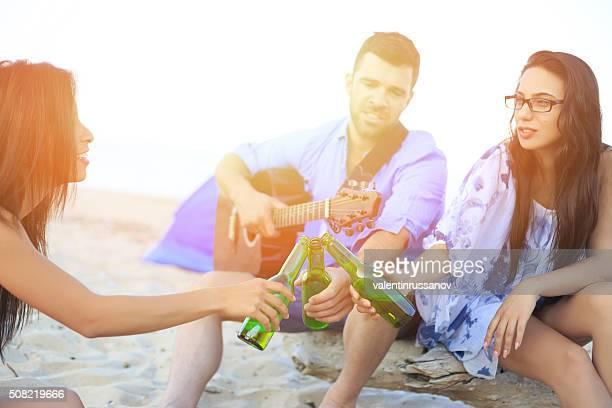 ご友人とドリンクビーチの