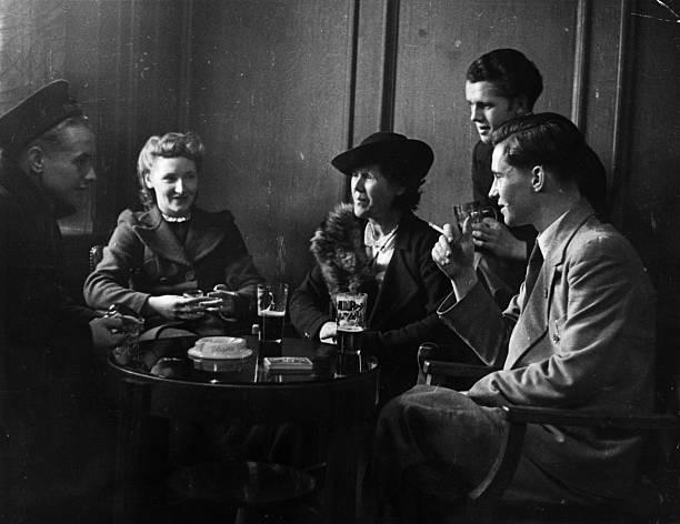 Wartime Drink Wall Art