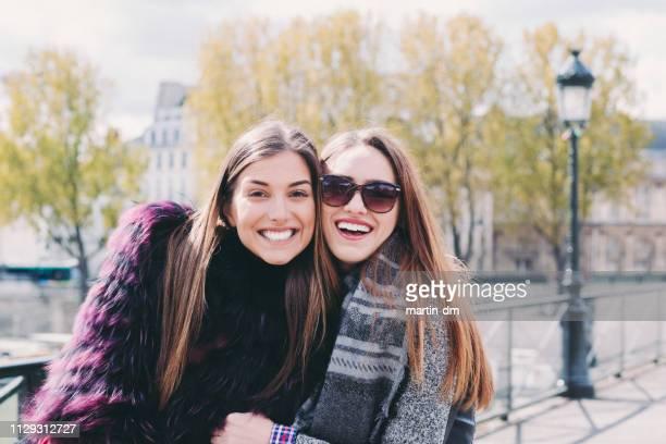 Friends exploring Paris