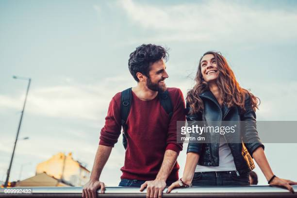 friends falling in love - i love you stock pictures, royalty-free photos & images