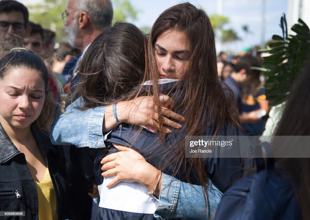 Florida International University Holds Vigil For Victims Of Bridge Collapse