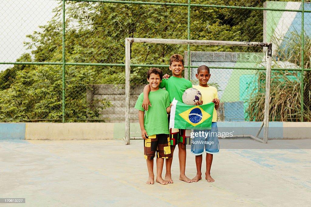 Freunde von Brasilien : Stock-Foto