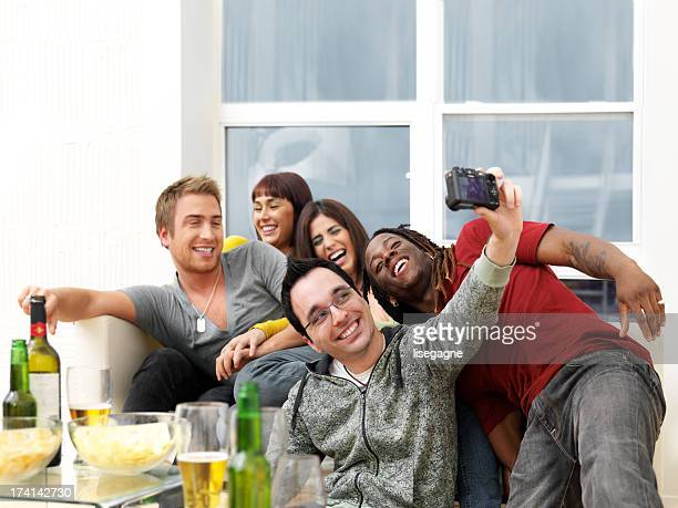 Friends hanging out