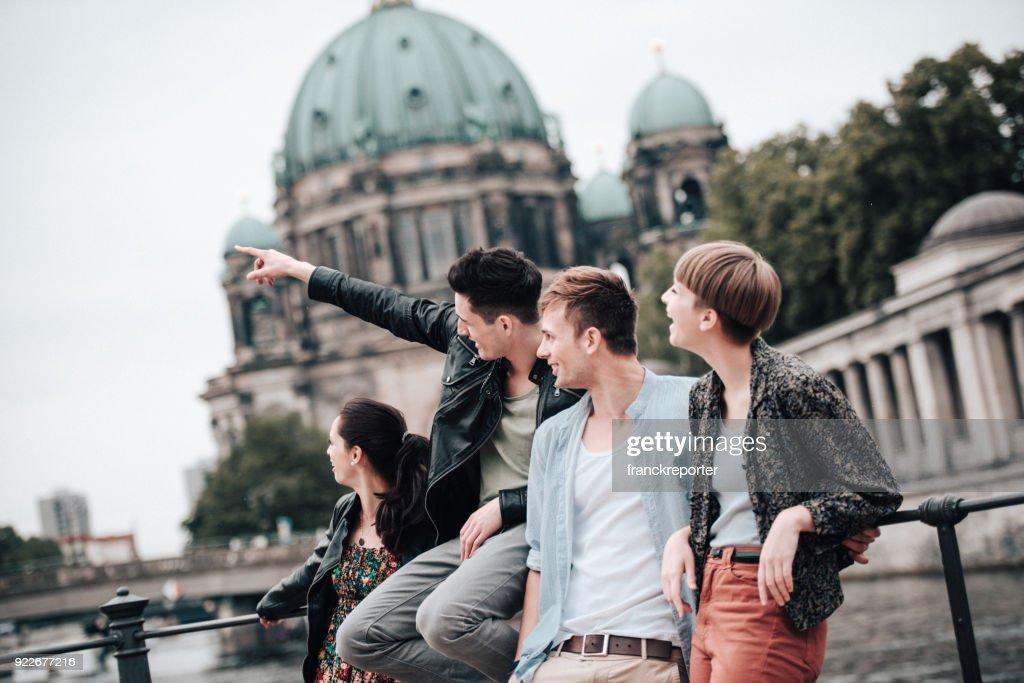 Fun with friends in berlin